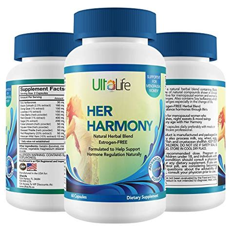 vitamins mood swings her harmony 1 best menopause supplements w black cohosh
