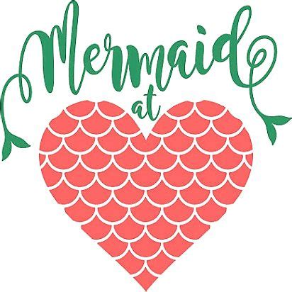 """""""mermaid at heart"""" stickers by morgan turrentine 
