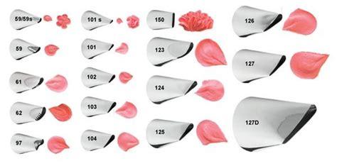 Tip Spuit No 102 No 104 wilton tip petal no 104 chef s complements