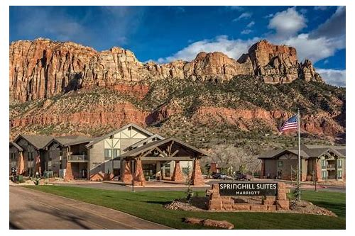 hotel deals zion national park