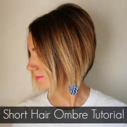 how to ombre hair at home hair ombre tutorial how to do ombre at home one