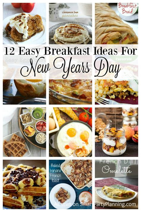 new years recipe ideas 12 easy breakfast recipes for new years day smart
