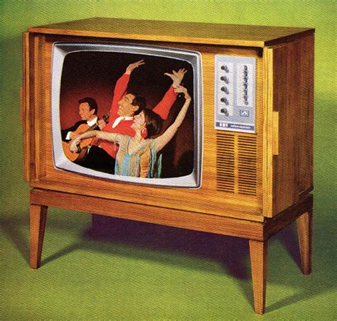 when was color tv introduced a new company telefusion later renamed
