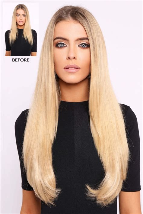 thick hair extensions thick 18 inch 1 weft straight hair extensions lullabellz
