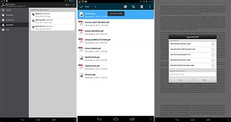 adobe reader for android adobe reader update for android adds costly pdf conversion features