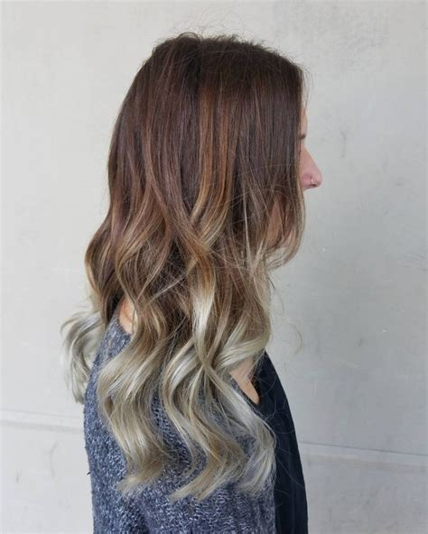 silver brown hair dazzling silver ombre for 2017 new hair color ideas