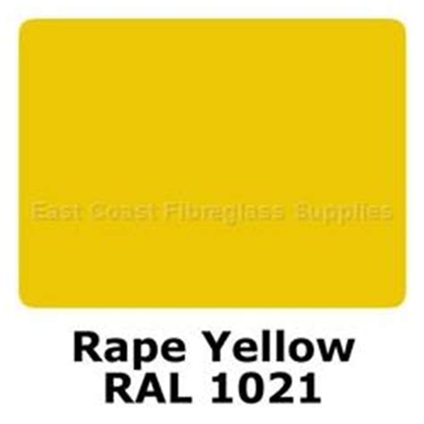ral 1021 polyester pigment yellow east coast fibreglass supplies