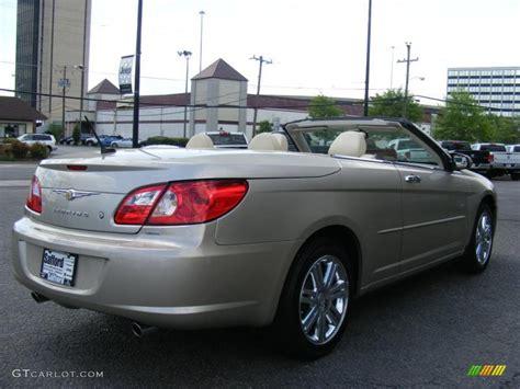 2008 Chrysler Sebring Interior by 2008 Linen Gold Metallic Chrysler Sebring Limited