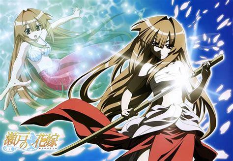 seto no hanayome 6 anime like seto no hanayome my is a mermaid