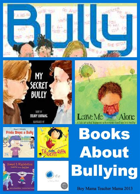 picture books about bullying book books about bullying boy
