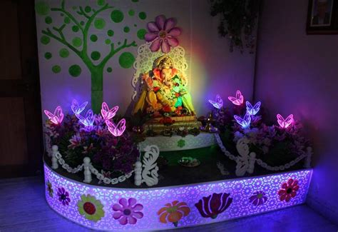 decoration ideas at home ganpati decoration ideas at home pooja room decoration