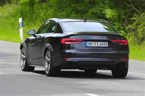 future audi rs5 2018 audi rs5 test mule spotted