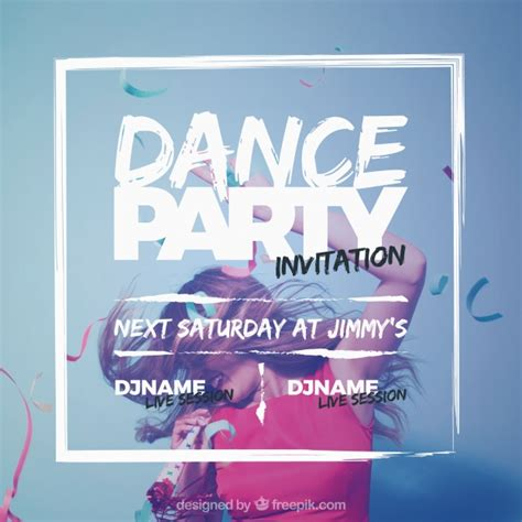 design party invitation event invitation vectors photos and psd files free download