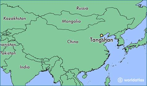 world map city locator where is tangshan china where is tangshan china