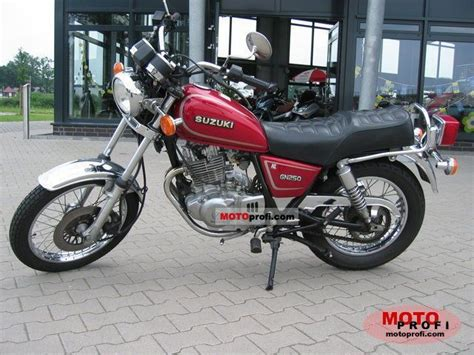 Suzuki Gn 250 1993 Specs And Photos