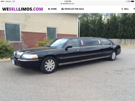 lincoln town car 2006 for sale limousine for sale 2006 lincoln town car limousine in