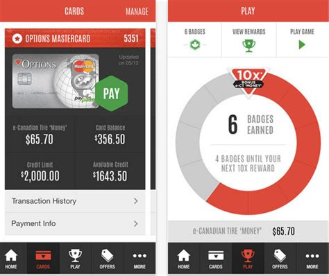 brandchannel canadian tire app delivers mobile pay gamification  loyalty programs