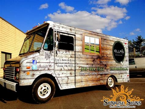graphic design food truck custom food truck graphics design for ella s american