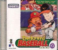 humongous entertainment backyard baseball videogames and gaming humor on pinterest age of empires