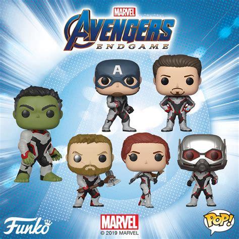 marvel avengers endgame pop vinyls announced