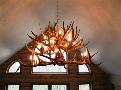 antler chandelier ceiling fan rustic faux antler chandelier home design faux antler