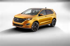 2015 Ford Edge Pictures 2015 Ford Edge Look Photo Gallery Motor Trend