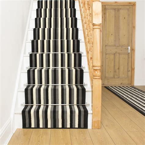 Stair Carpet Black Grey Stair Carpet Runner Broad 10