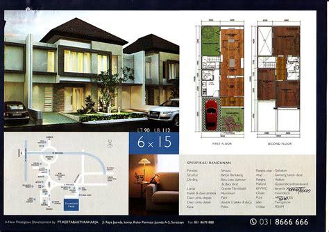 layout rumah lebar 6 meter denah lebar 6 meter gambar rumah idaman com