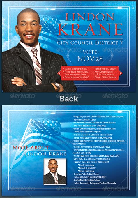 election flyer templates 8 best images of political caign flyers political