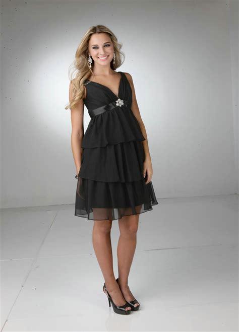 Black Bridesmaid Dress by Black Bridesmaid Dress With Sash Ipunya