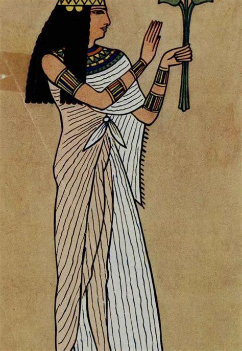 imagenes egipcias antiguo para dibujar la moda en el antiguo egipto