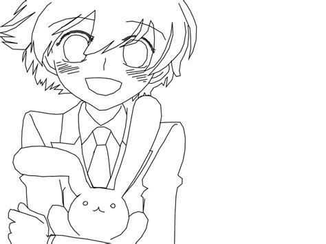 honey bunny coloring pages honey ohshc lineart by girfan18 on deviantart