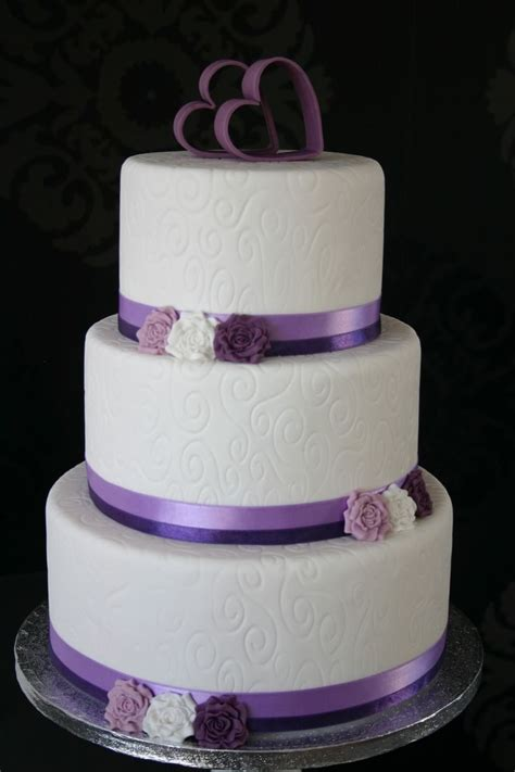 17 best images about purple and teal wedding cakes on