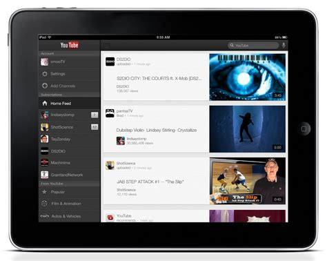 youtube layout changes ipad official youtube blog youtube on ipad and sweet updates