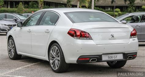 peugeot 506 price peugeot 508 facelift launched in malaysia fr rm175k