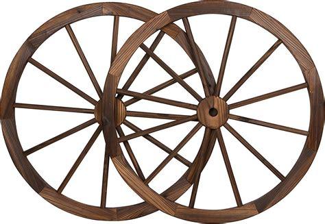 Decorative Wagon Wheels by Large Wood Wagon Wheels 30 Quot Big Rustic Country Western Wall Wooden Wheel Decor Ebay