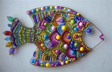 beaded paintings wire and bead animal inspirations and tutorials by