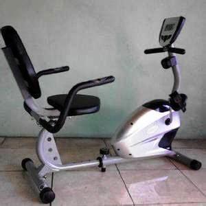 recumbent bike sepeda magnetic tl 370 terapi pasca operasi murah