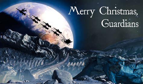 destiny brings holiday presents  holiday cheer   guardians january