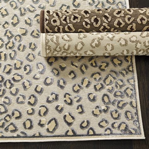 cheetah rugs cheetah rug ballard designs