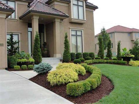 front yard landscaping ideas ontario clean front landscape rosehill gardens kansas city