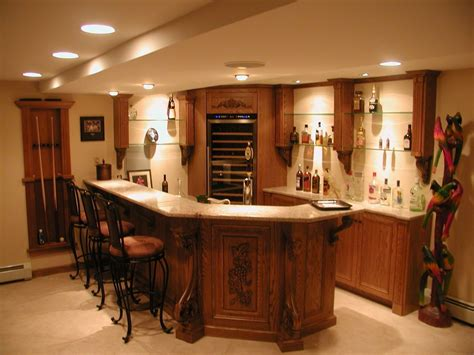 granite top bar custom oak bar with granite top and enkeboll mouldings by david leiz custom