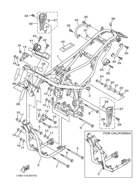 yamaha xt250 carburetor wiring diagram and fuse box