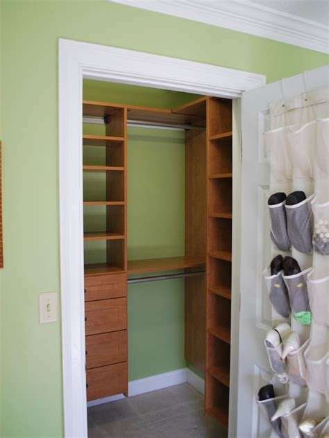Small Bedroom Closet Design Small Closet Home Design Ideas Pictures Remodel And Decor