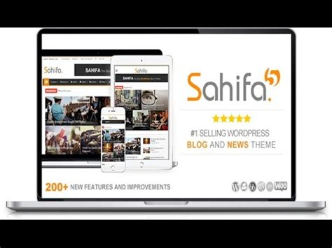sahifa theme customisation wordpress general settings sahifa theme customization