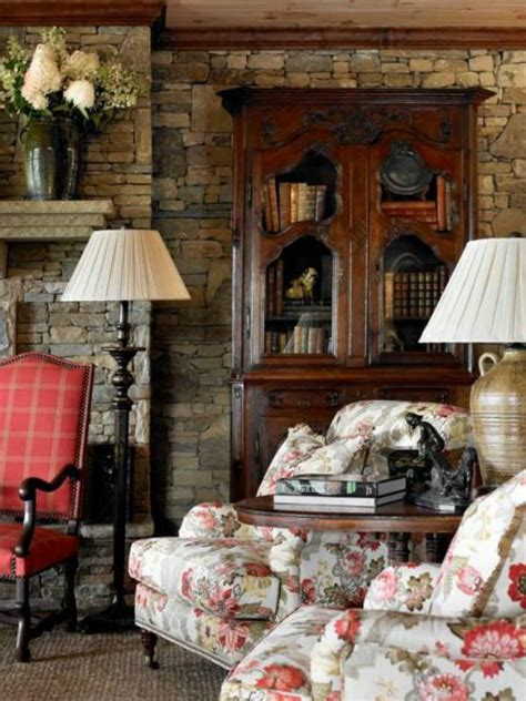 country decorating style country living room