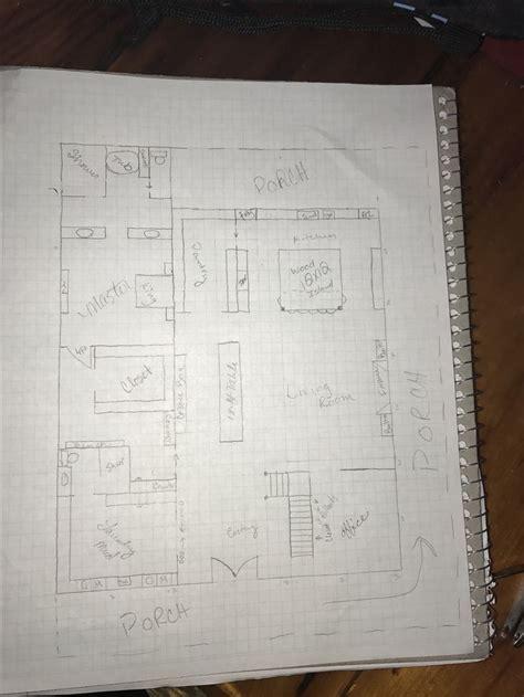 barn floor plan  amanda  jones barndominium