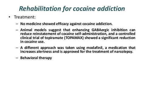 Cocaine Detox Treatment by Treatment And Rehabilitation Of Addiction