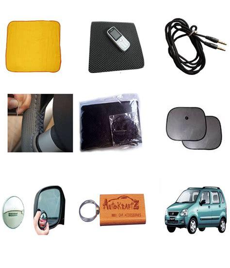 r for car autokraftz essential combo car accessories for wagon r buy autokraftz essential combo