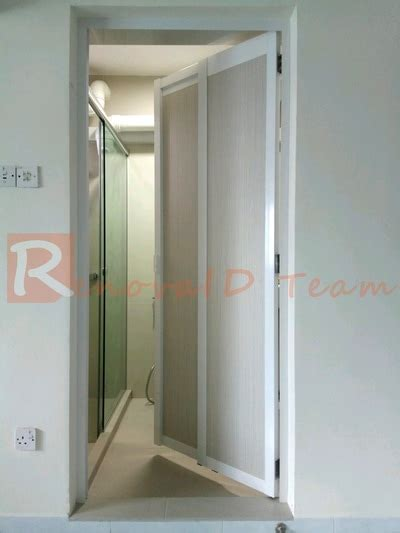 swing room factory slide and swing toilet door promotion for hdb bto flat at